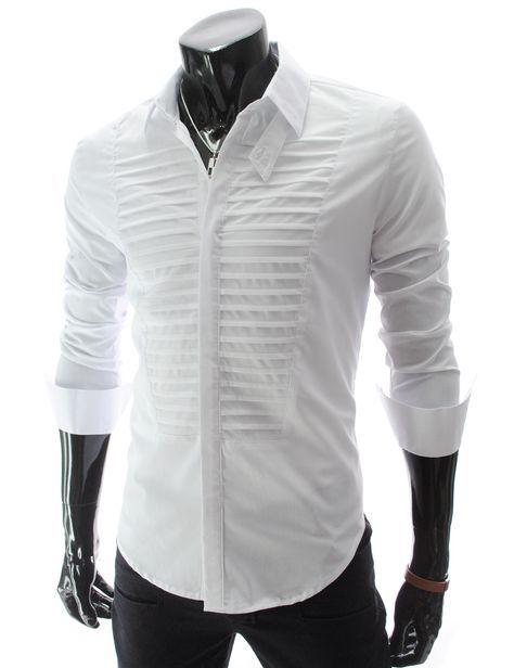 white shirt | Formal shirts for men, Mens designer shirts, White .