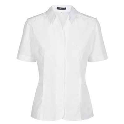Womens Short-sleeved white shirt | Uniforms by Oli