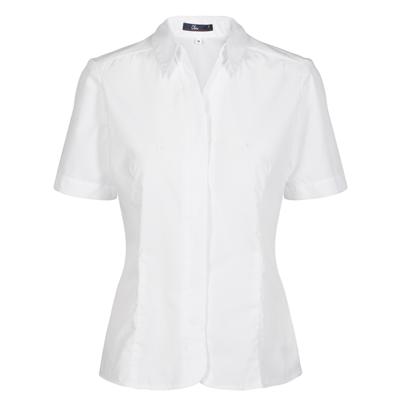 Womens Short-sleeved white shirt | Uniforms by Oli
