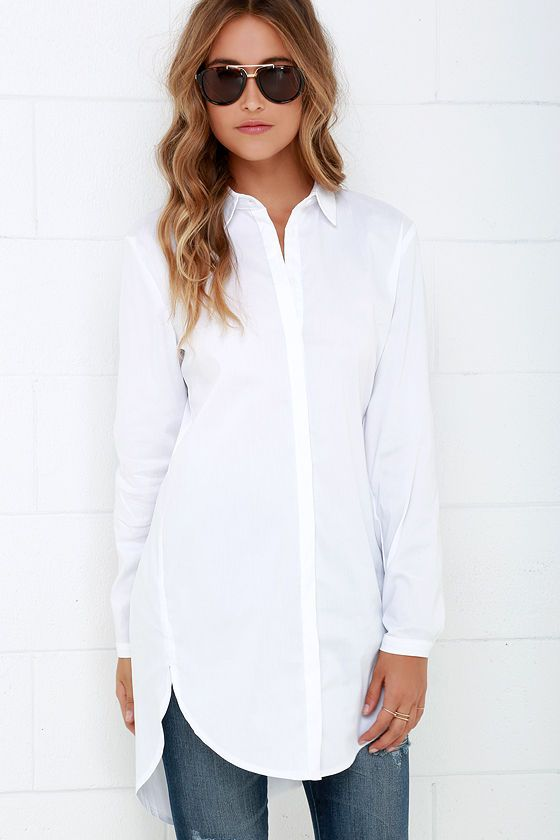 White Tunic Tops