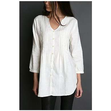 white tunic tops 07350940 | The Cute Styl