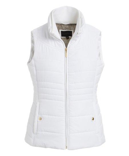 Weatherproof White Puffer Vest - Women | Zuli
