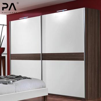 White Wall To Wardrobe Design Sliding Door Cabinet Color Fashion .