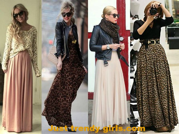 maxi skirts in winter – Just Trendy Gir
