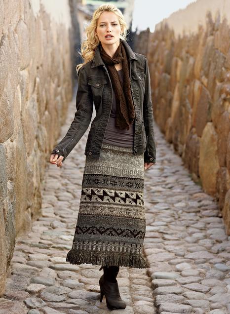 Cuzco Wool Skirt - Peruvian Connecti