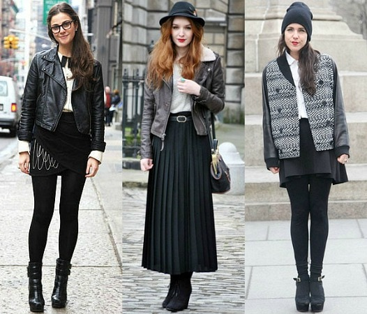 Staying Cute in the Cold: How to Wear Skirts During Winter .
