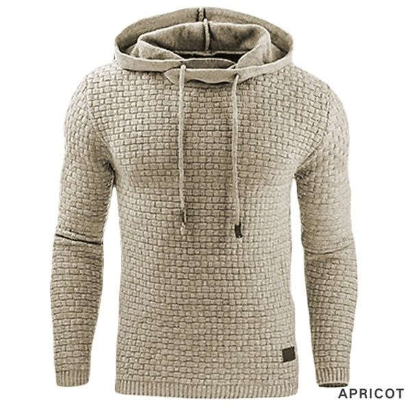 Men's Winter Hoodie Warm Hooded Sweatshirt Coat Jacket Outwear .