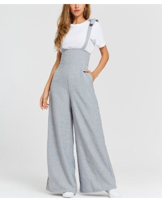 New Sales are Here. 63% Off Suvimuga Women's Jumpsuits Gray - Gray .
