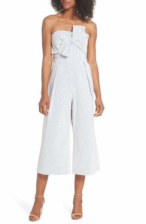 Women's Jumpsuits & Rompers (With images) | Cropped jumpsuit .