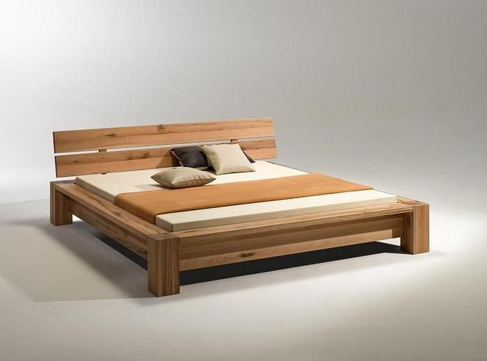 A Wooden Bed Design : Bedroom Designs Gorgeous Oak Simple Solid .