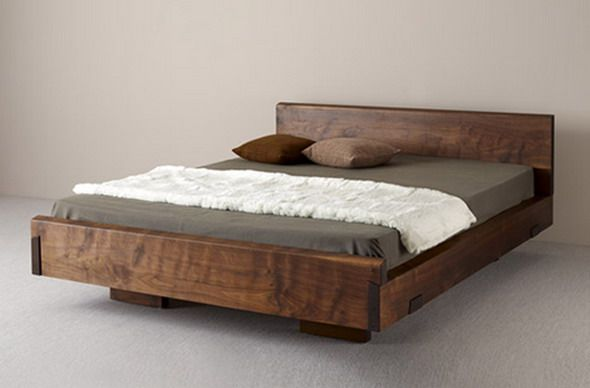 Natural Wood Beds by Ign. Design. - rustic knotty wood (mit .