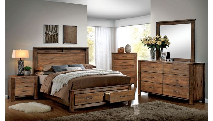 Nellwyn Rustic Oak Bedroom Furnitu