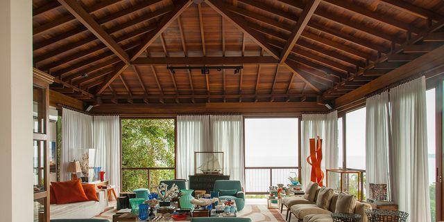 32 Wood Ceiling Designs - Ideas for Wood Plank Ceilin