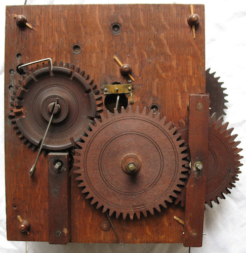 30-hr Wooden Works - A Chauncey Jerome Clock Collect