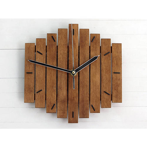 Analog Polished Wooden Clocks, Rs 450 /piece Mahesh Handicraft .