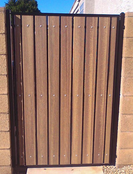 Iron and Wood Gates Design | Iron and Wood Gates: standard iron .