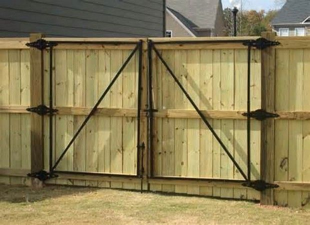 Best Wooden Gate Design Wooden Fence Gate Design (With images .