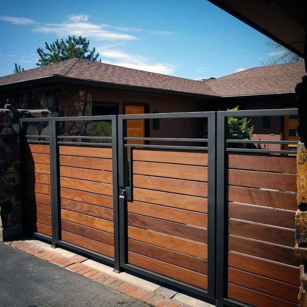 Top 40 Best Wooden Gate Ideas - Front, Side And Backyard Designs .