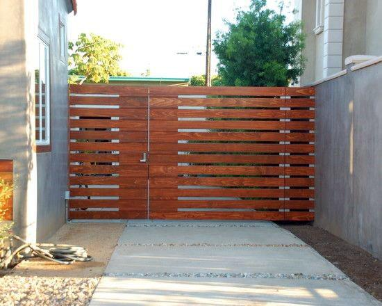 Top 40 Best Wooden Gate Ideas - Front, Side And Backyard Desig