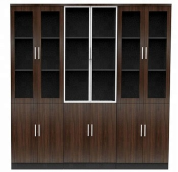 Pictures of file cabinet wooden office showcase designs (SZ-FCB311 .