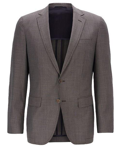 Hugo Boss BOSS Men's Halwon Slim-Fit Wool Blazer & Reviews .