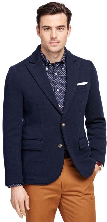 Merino Wool Blazer | Wool blazer mens, Blazers for men, Wool blaz