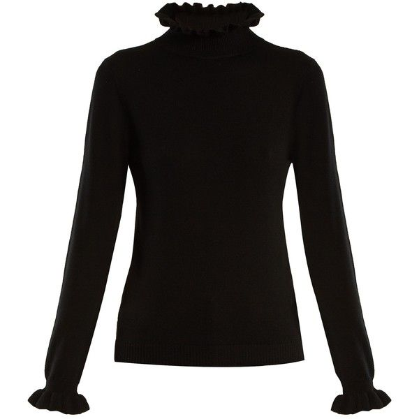 Shrimps Robin high-neck wool sweater (905 SAR) ❤ liked on .