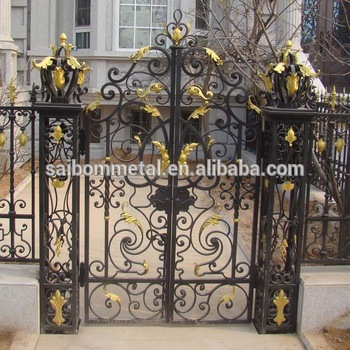 Wrought Iron Gate Design - Buy Wrought Iron Gate Designs With .
