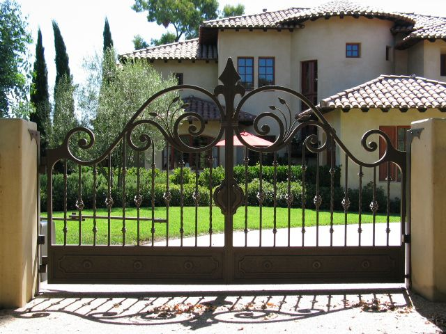 wrought iron gate design catalogue - Google Search | Wrought iron .