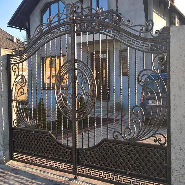 Cheap Modern House Wrought Iron Main Gates Designs Simple Gate .