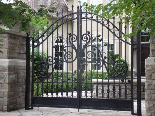 wrought iron gate design catalogue | Gate design, Iron gate design .