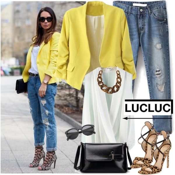 14 Ways To Wear Yellow Blazers 2020 | FashionTasty.c