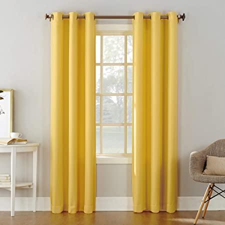 Amazon.com: No. 918 Montego Casual Textured Grommet Curtain Panel .