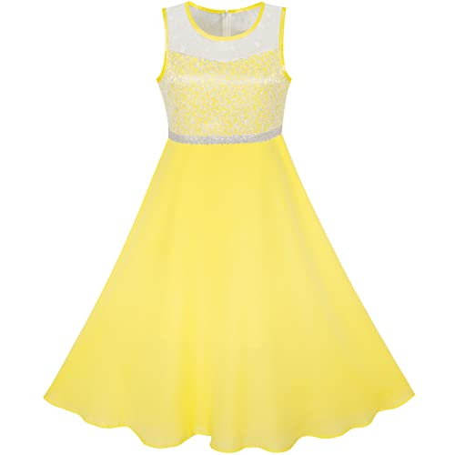 Yellow Gown Dress for Kids: Amazon.c