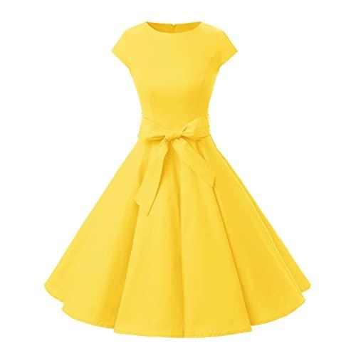 All Yellow Dress: Amazon.c
