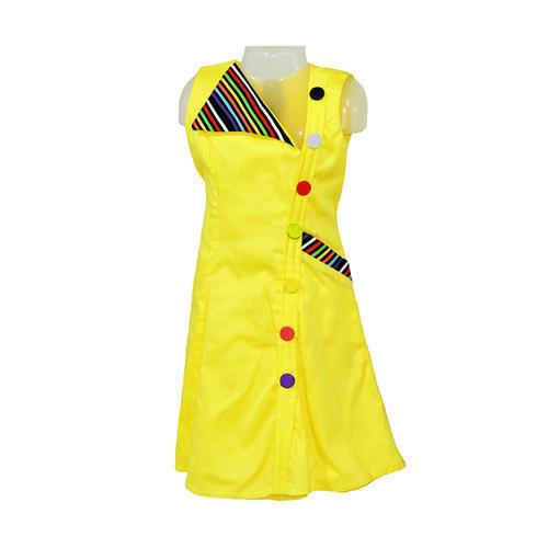 Glazed Cotton Kids Yellow Frocks, Rs 2100 /piece Firozee Dresses .