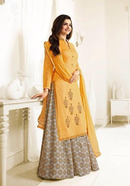 Yellow Beautiful Salwar Kameez Designs – Indian Dress