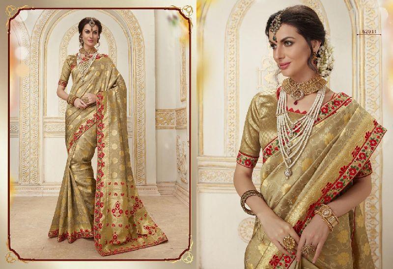 Reshmi Zari banarasi sarees Manufacturer in Mumbai Maharashtra .