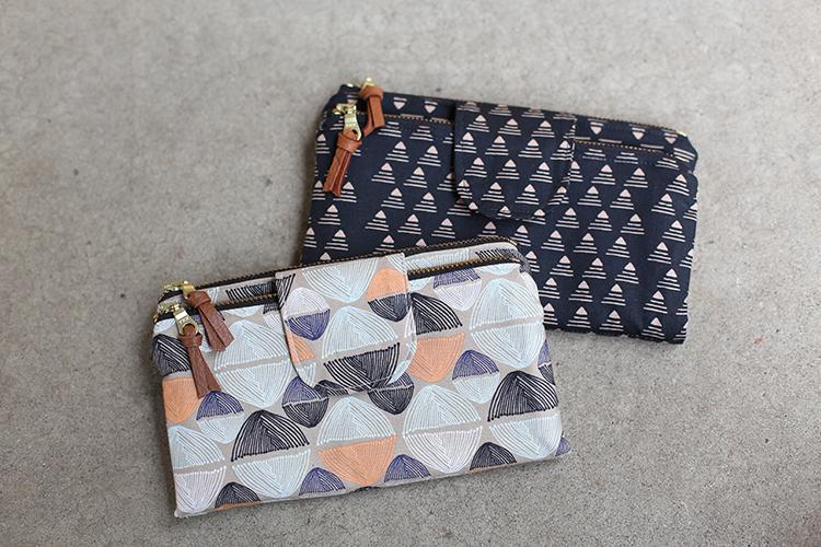 Double Zip Wallets // Handmade Style - Noodlehe